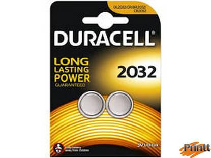 Immagine di Batterie 3 Volt CR2032 DURACELL 2 PEZZI