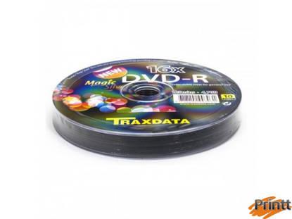 Immagine di DVD-R Traxdata 16X camp. 10pz